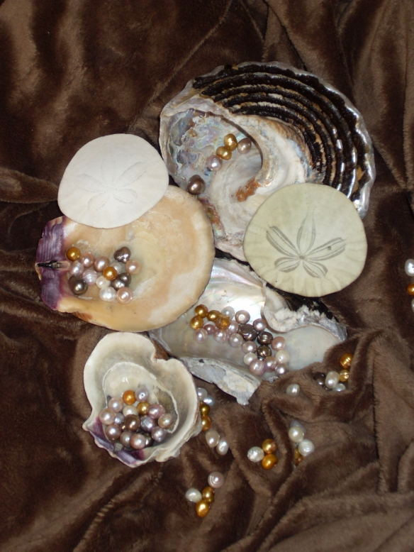 A sea shell will be included to scoop out the desired amount of bath product you wish to use. The shells will vary in shape, size and color. Enjoy your added little treat.