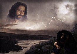 Image result for public domain pictures of jesus calming the storm