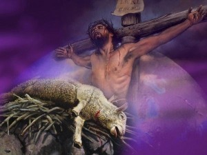 Jesus was slain for you and me. He took our sin and put it to death there.