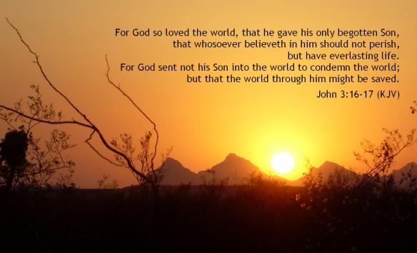 John 3-16-17